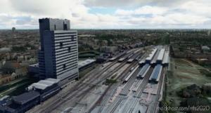 Gent-Sint-Pieters Station, Ghent Belgium V0.8 for Microsoft Flight Simulator 2020
