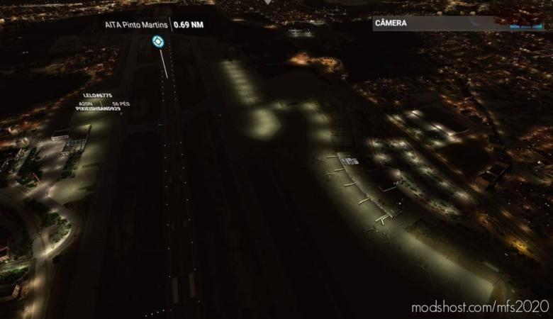 Sbfz – Aeroporto Internacional Pinto Martins – Fortaleza/Ceara Building FIX And Better Night View for Microsoft Flight Simulator 2020