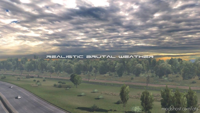 Realistic Brutal Weather V2.7 [1.38] for American Truck Simulator
