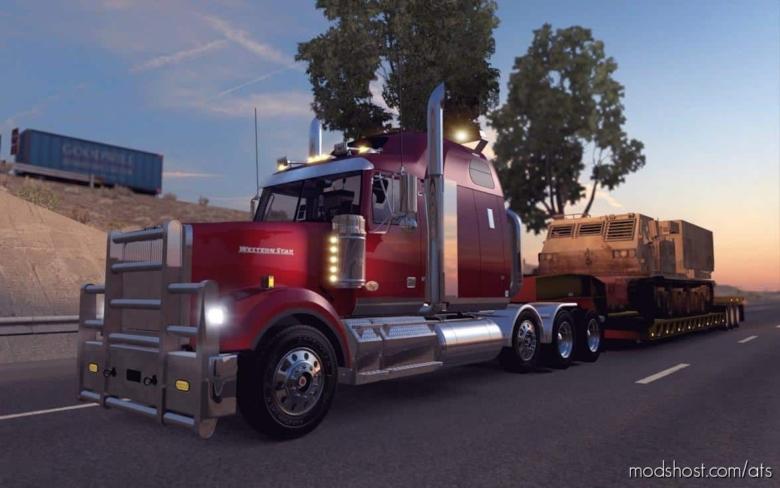 Western Star 4900FA Truck V2.0.4 [1.38] for American Truck Simulator