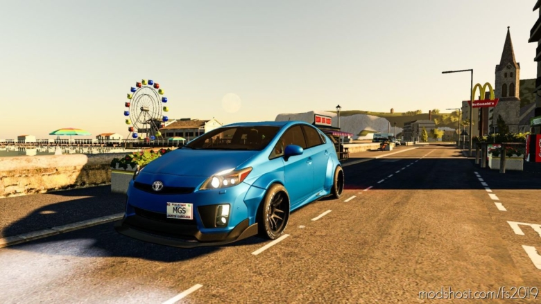 Toyota Prius for Farming Simulator 19