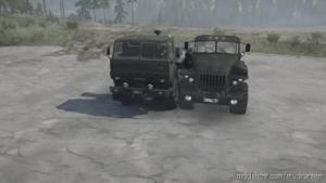 Ural-6614 / Kamaz-63501 Truck V18.11.19 for MudRunner
