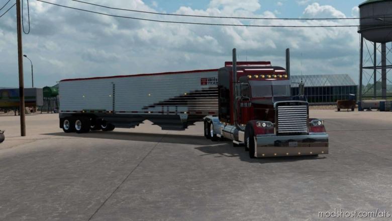 The Wilson Grain Hopper Ownable [1.38] for American Truck Simulator