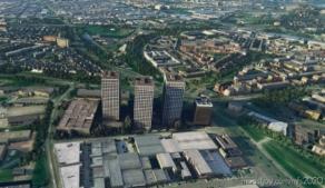 Rotterdam – 3 Towers Marconiplein for Microsoft Flight Simulator 2020