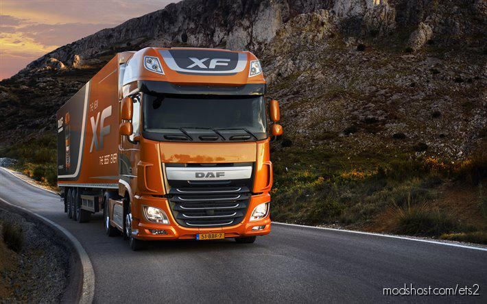 DAF XF E6 Paccar Sound Mod [1.38] for Euro Truck Simulator 2