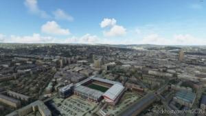Sheffield United Stadium/Bramall Lane (UK) W/ Colour Correction + Lods for Microsoft Flight Simulator 2020