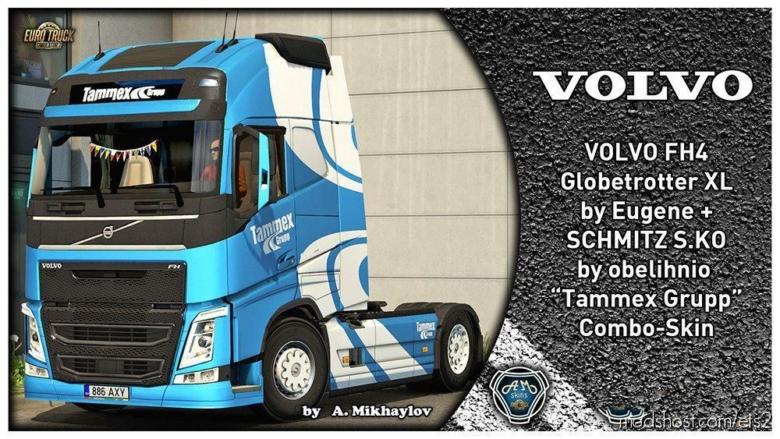 Volvo FH4 Tammex Grupp Combo Skin for Euro Truck Simulator 2