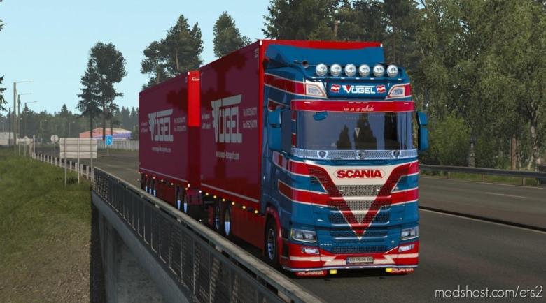 Vogel Transporte Tandem Skin By Kript V1.1 for Euro Truck Simulator 2