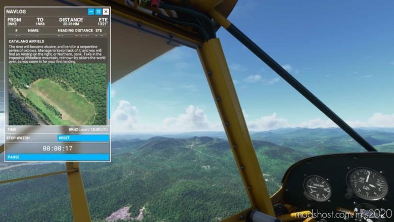 Bush Trip – Discover The NE Adirondacks (SDK Sample Also Available) for Microsoft Flight Simulator 2020