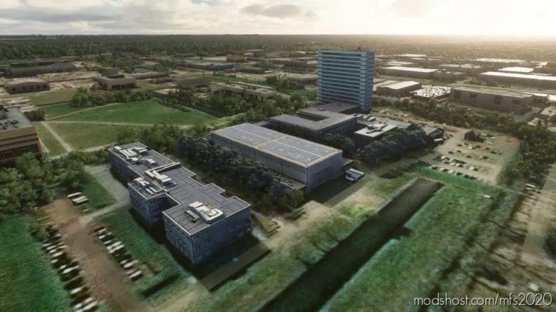 Delft – TU Delft Campus for Microsoft Flight Simulator 2020