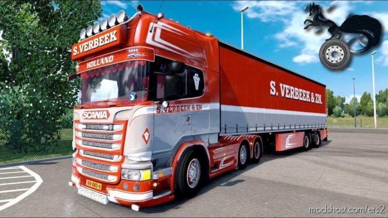 Scania R440 Streamline S.verbeek [1.38] for Euro Truck Simulator 2