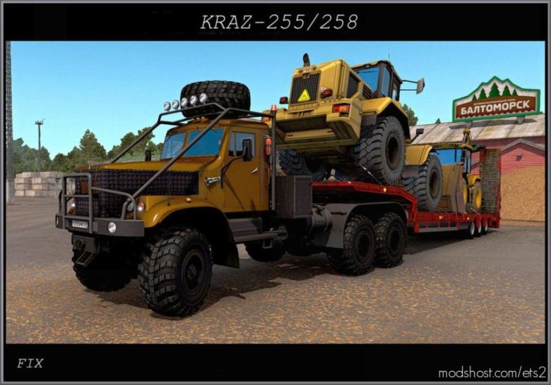 FIX For The Kraz 255 for Euro Truck Simulator 2