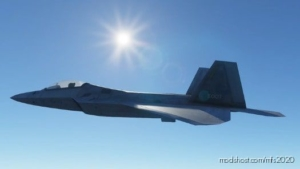 F-22 Raptor Aircraft for Microsoft Flight Simulator 2020