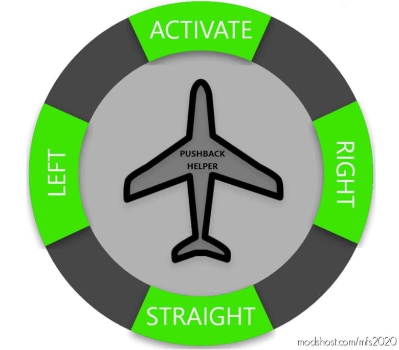 Pushback Helper V2.0 for Microsoft Flight Simulator 2020