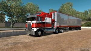 Kenworth K100-E Truck V1.2.1 [1.38] for American Truck Simulator
