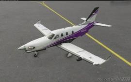 Daher TBM 930 Alternate Color Stripes (6 Colors) for Microsoft Flight Simulator 2020