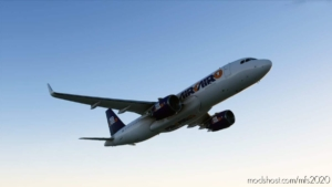 AIR Cairo A320 Purple for Microsoft Flight Simulator 2020