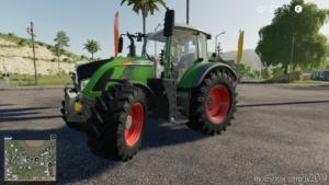 Fendt Vario 700 S5 By Eddyfarmer for Farming Simulator 19