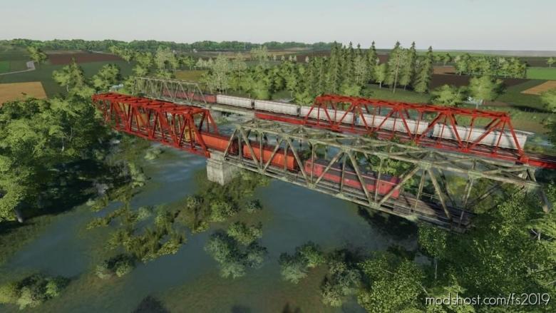Train Bridges (Prefab) for Farming Simulator 19
