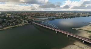 Nijmegen – Spoorbrug (Railway Bridge) for Microsoft Flight Simulator 2020