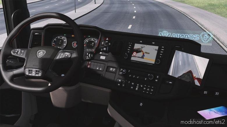 Corner EYE & Front Camera Mod For Next Generation Scania [1.38] for Euro Truck Simulator 2