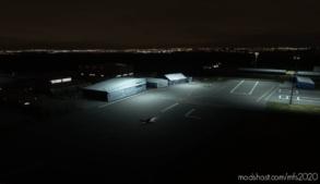 Newcastle Airport (Egnt) Scenery & Night Lighting Enhancements for Microsoft Flight Simulator 2020