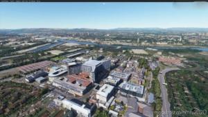 Queen Elizabeth University Hospital, Glasgow for Microsoft Flight Simulator 2020