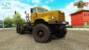 Kraz 255 + Interior V5.1 [1.38.X] for Euro Truck Simulator 2