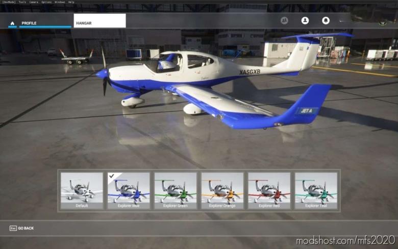 Diamond Da40-Ng – Explorer (5 Colors) for Microsoft Flight Simulator 2020