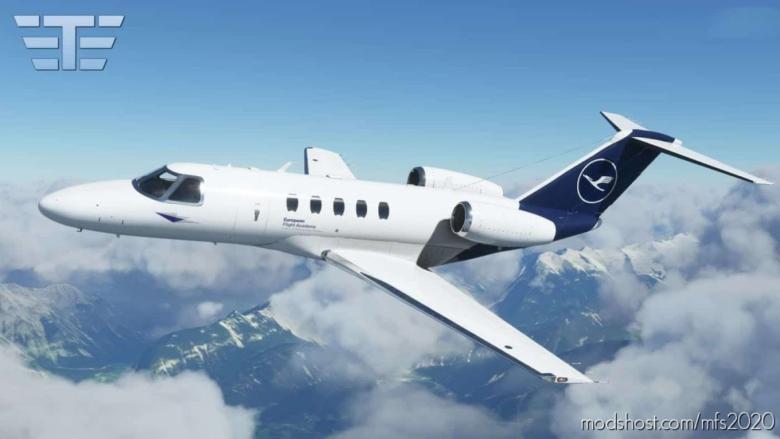 Cessna Citation CJ4 – Lufthansa Flight Academy for Microsoft Flight Simulator 2020