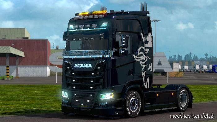 Scania S Eu/Uk For Multiplayer for Euro Truck Simulator 2