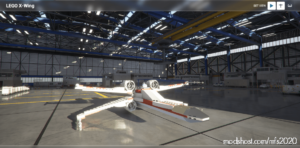 Lego X-Wing Aircraft for Microsoft Flight Simulator 2020