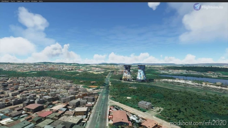 Soweto Towers for Microsoft Flight Simulator 2020