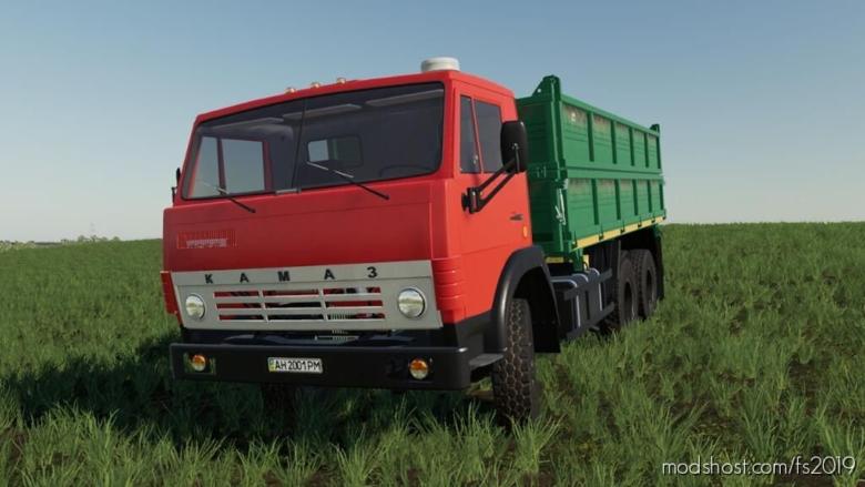 Kamaz 55102 for Farming Simulator 19
