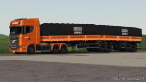 Randon Bitrem Short Bulk Carrier Randon Line R for Farming Simulator 19