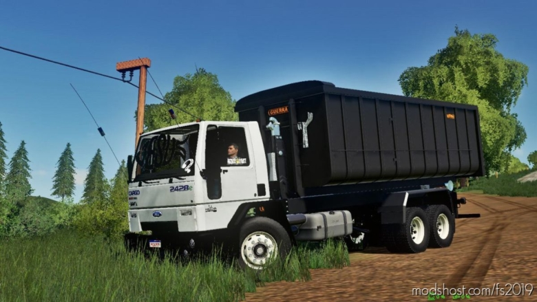 Ford Cargo 2428 for Farming Simulator 19