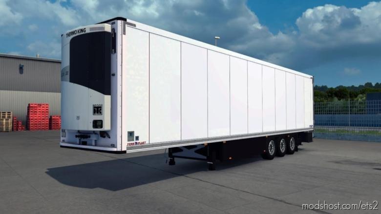 Ownable Schmitz SKO Trailer [1.38] for Euro Truck Simulator 2