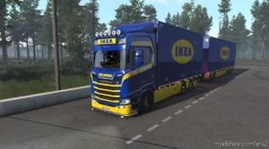 Ikea Tandem Pack Scania S And R Eugene/Kast V1.1 for Euro Truck Simulator 2