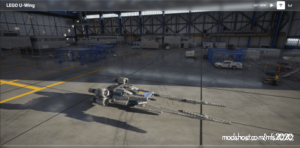 Lego U-Wing for Microsoft Flight Simulator 2020