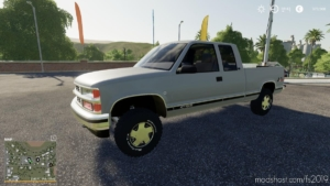 Chevy Z71 Lawncare for Farming Simulator 19