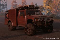 """Enhanced Hummer H2 """"First Responder"""" M181 V for SnowRunner"""