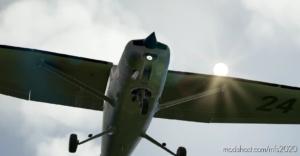 C152 Worn Metal Bare for Microsoft Flight Simulator 2020