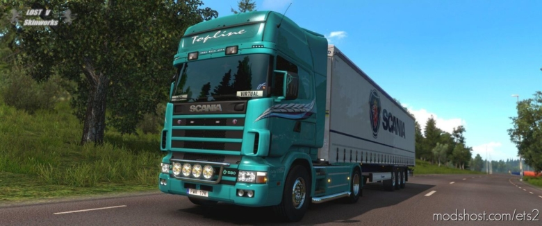 Svempa Bergendahl RJL Scania Limited Edition for Euro Truck Simulator 2