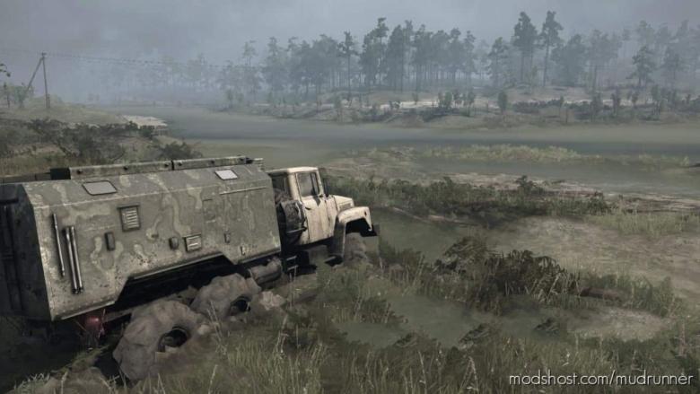 The Swamp Map for MudRunner