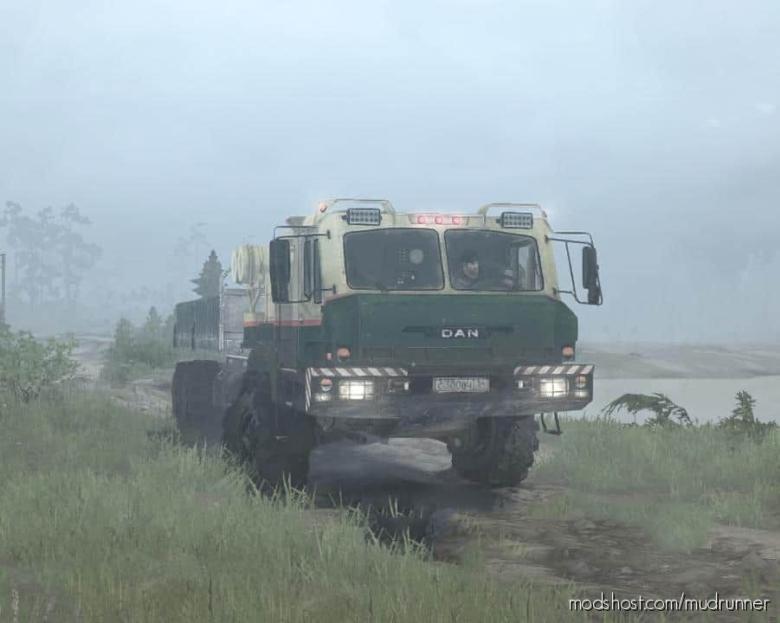 DAN 96320 (BAZ-6402) Truck V0.1 for MudRunner