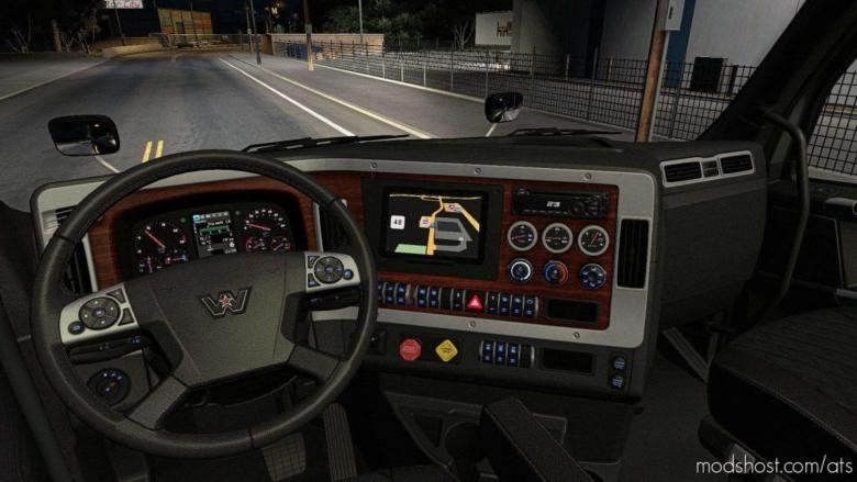 Interior For Western Star 49X V0.1 Beta for American Truck Simulator