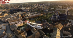 Châteauroux Landmarks, France for Microsoft Flight Simulator 2020