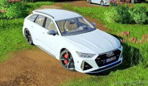 Audi RS6 Avant 2020 for Farming Simulator 19