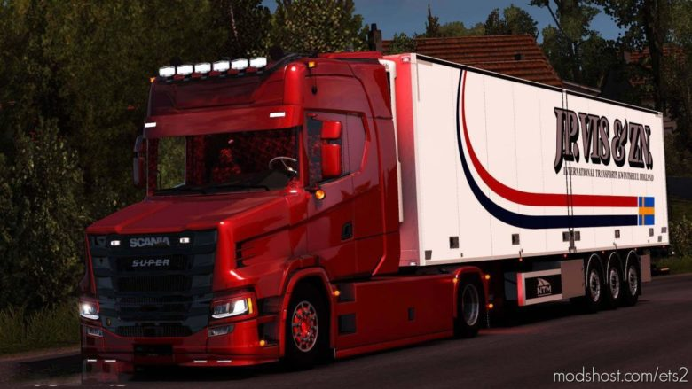 Scania T Nextgen 4×2 [1.38] for Euro Truck Simulator 2