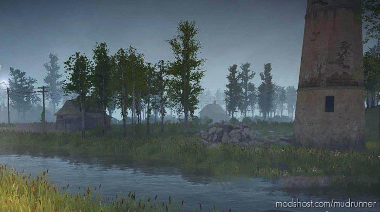 Cage Map V1.2 for MudRunner